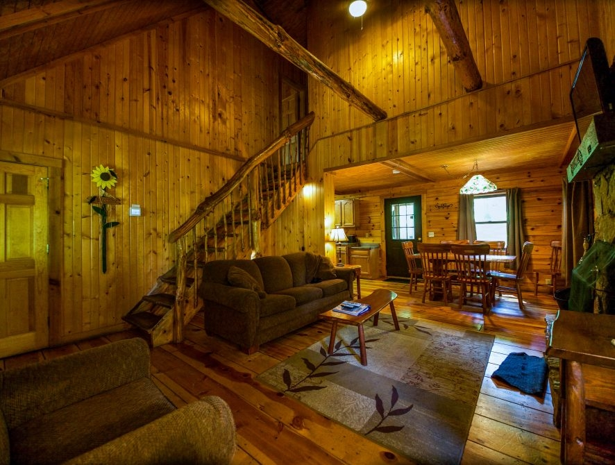 15 off in december sycamore cabin the chalets Hocking Hills Ohio Cabins