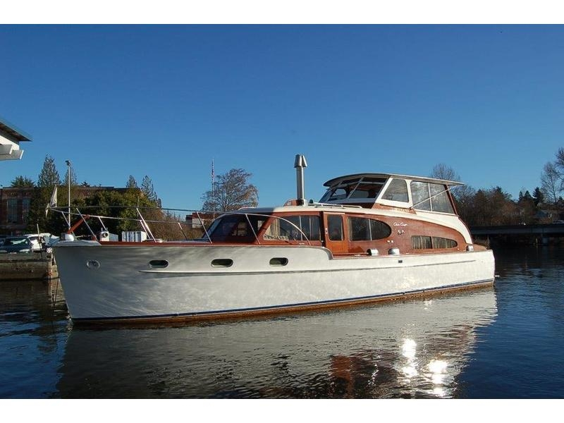 1949 chris craft double cabin cruiser powerboat for sale in Chris Craft Cabin Cruiser