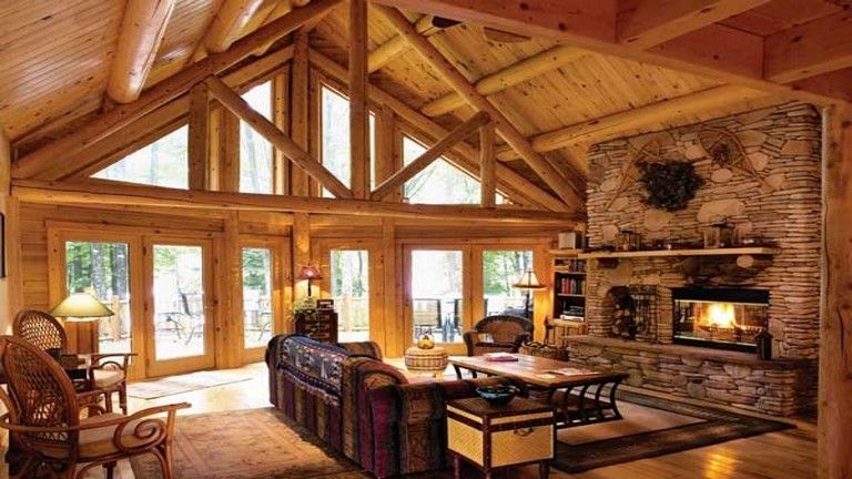 33 exceptional cabin ideas for cool living room design Cool Cabin Ideas