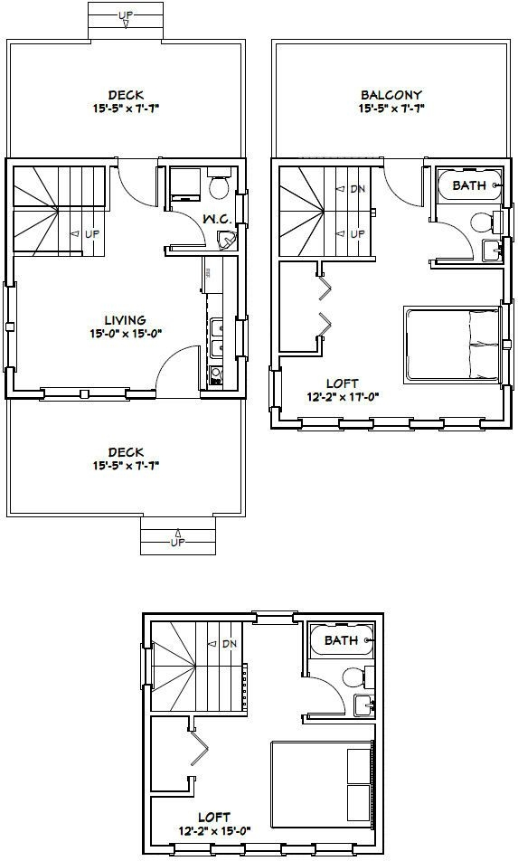 arts and crafts style shelves in 2019 tiny house plans 16 X 16 Cabin Plans