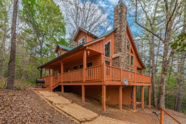 Perfect Blue Creek Cabins Gallery