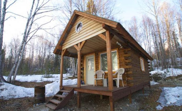 building cabins off the grid field stream Building A Cabin In Alaska