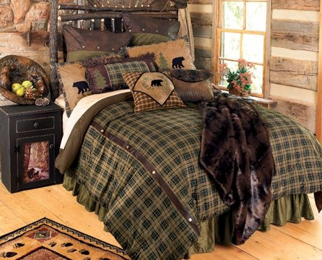 cabin decor and cabin bedding at black forest decor black Cabin Decor Bedding