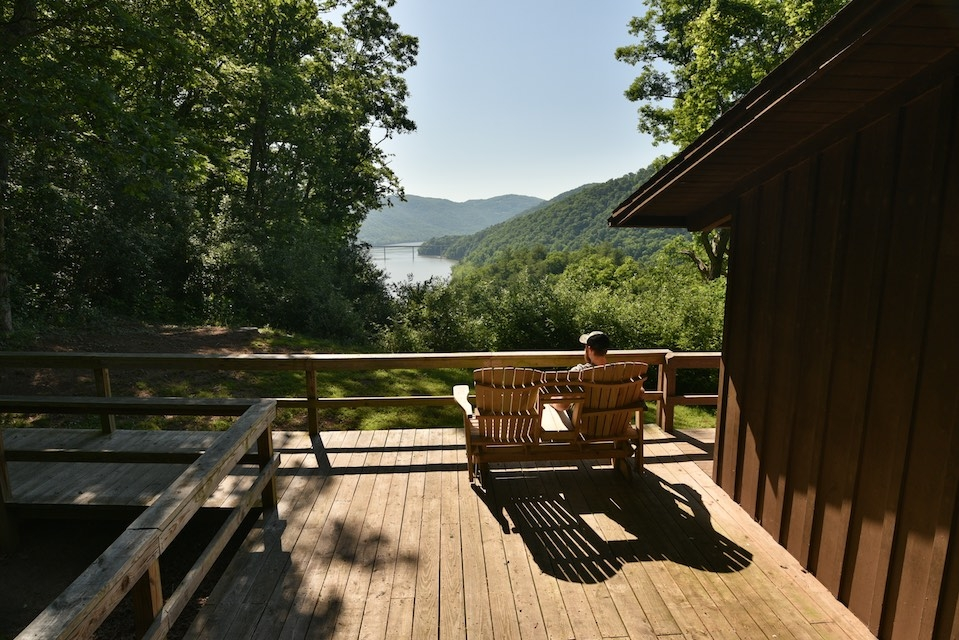 cabins at bluestone west virginia state parks west Bluestone State Park Cabins