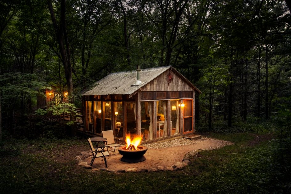 cabins more 8 amazing places to stay in wisconsin the Secluded Cabins In Wisconsin