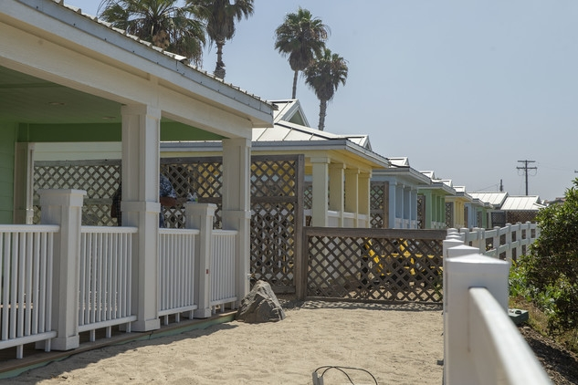 camp pendleton opens new beach cottages with dedication Camp Pendleton Cabins