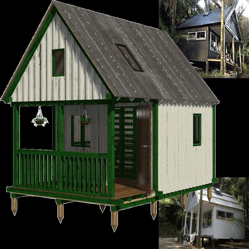 camping cabin plans marion Small Cabins To Build