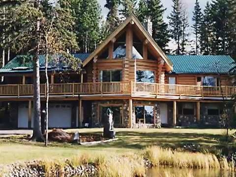 canadian made handcrafted log home and log cabin canadas Canadian Log Cabin