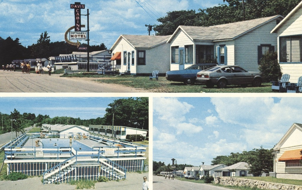 davis cabins cottages motel old orchard beach maine flickr Old Orchard Beach Cabins