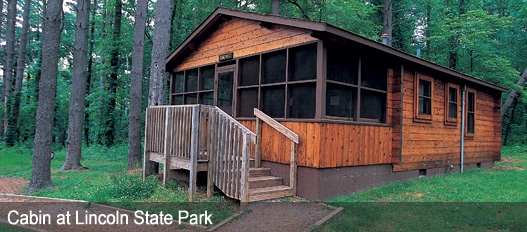dnr family cabins fees reservations Cabins In Indiana