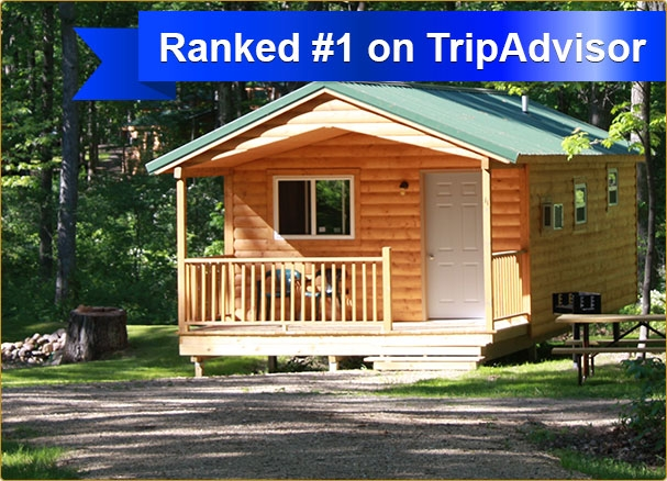 fox hill rv park campground affordable cabins tent rv Devils Lake Wisconsin Cabins