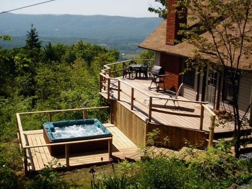 hot tub clouds cabin luray va in 2019 mountain cabin Cabins With Hot Tubs In Va