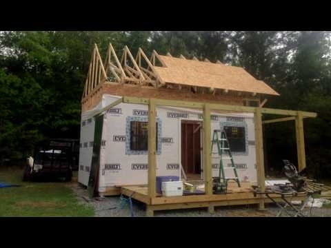 how to build forest cabin building 12x20 hunting cabin with Diy Hunting Cabin