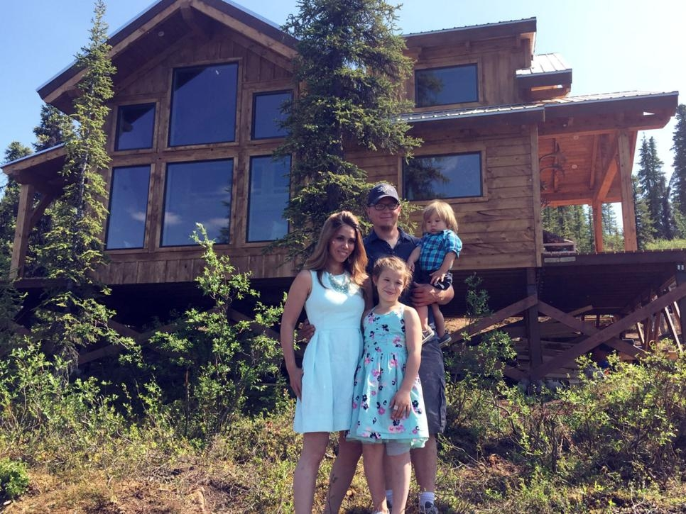 inside ana whites cabin from building off the grid alaska Building A Cabin In Alaska