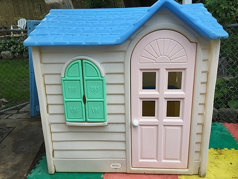 little tikes country cottage playhousevintage Little Tikes Log Cabin Playhouse