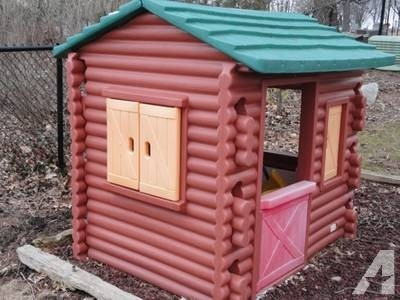 little tikes log cabin classifieds buy sell little tikes Little Tikes Log Cabin Playhouse
