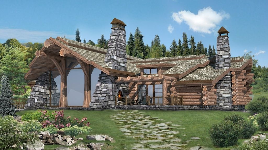 log cabin plans and prices handcrafted log homes cabins Canadian Log Cabin