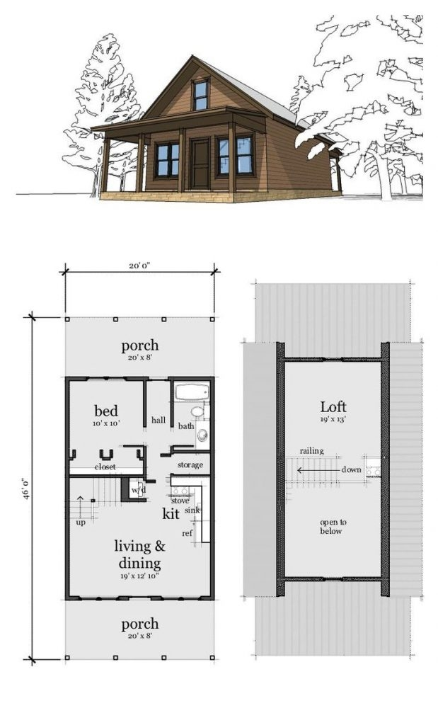 luxury 2 bedroom with loft house plans new home plans design 2 Bedroom Cabin With Loft Plans
