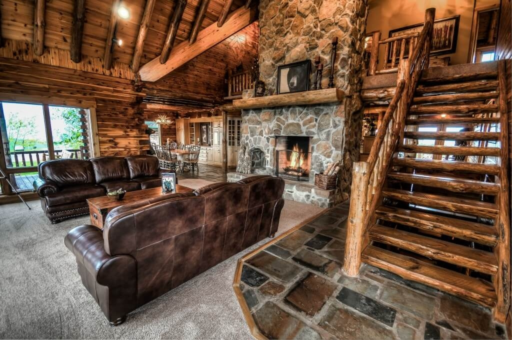 luxury cabin rental in amish country coshocton crest lodge Ohio Luxury Cabins