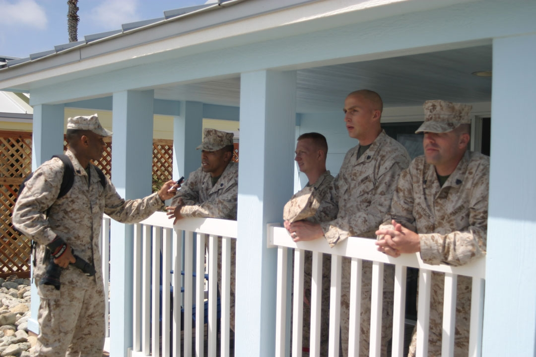 new cottages at camp pendleton beach facilitated the Camp Pendleton Cabins