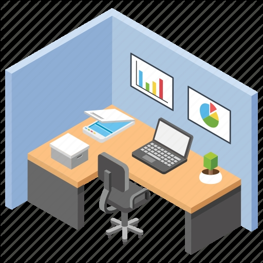office workplace 1 vectors market Images Of Office Cabin