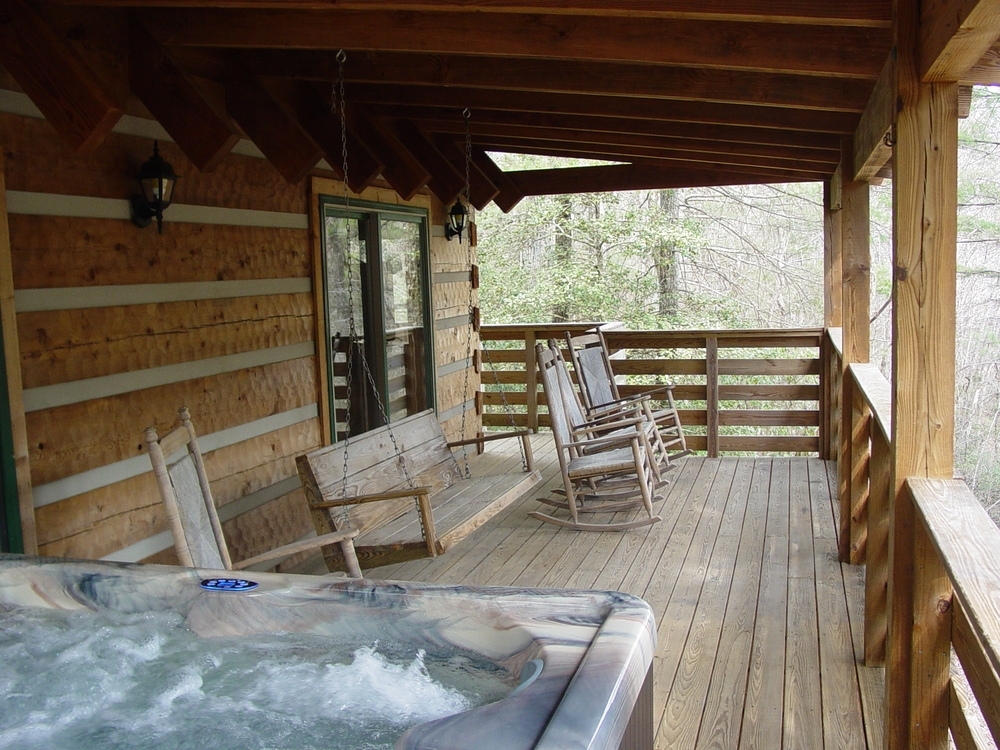 private log cabin vacation rentals hot tubs boone blowing Cabins With Hot Tubs In Va