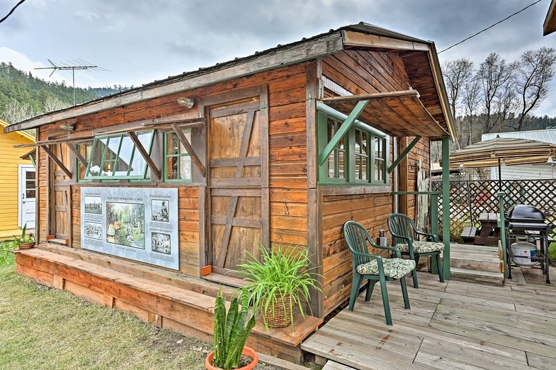 rustic keystone house 4 miles from mt rushmore updated Mt Rushmore Cabins