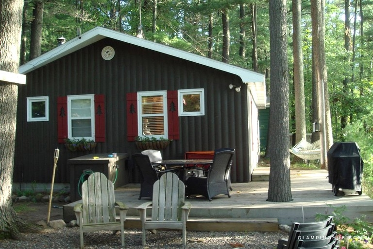 secluded cabin in the woods on dunham lake in northwest wisconsin Secluded Cabins In Wisconsin
