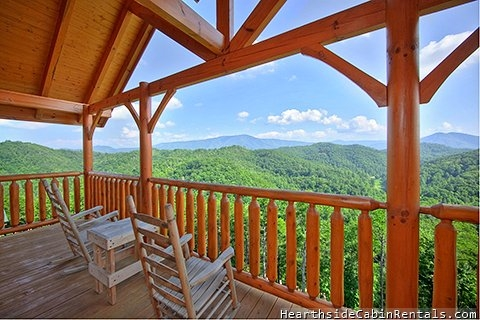 smoky mountain high 3 bedroom cabin in sevierville Cabins In Smoky Mountains Tn