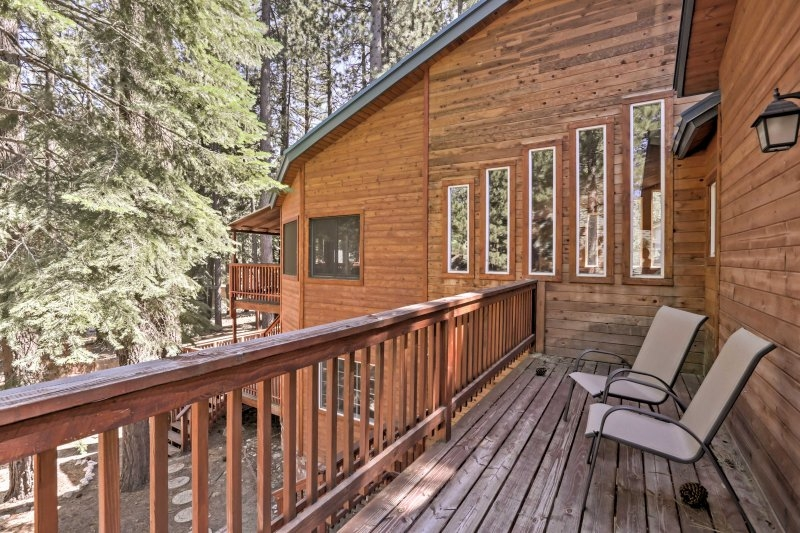 south lake tahoe cabin wprivate sauna game room updated Cabin In South Lake Tahoe