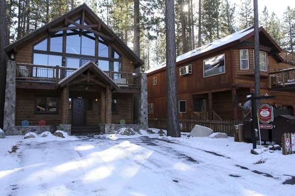 south lake tahoe vacation rental owners get a partial Cabin In South Lake Tahoe