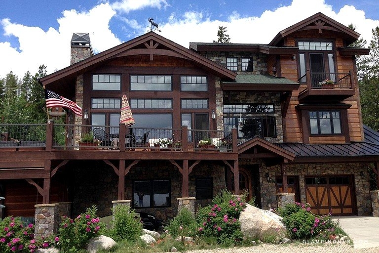 splendid large cabin rental with waterfront view in grand lake colorado Grand Lake Co Cabins