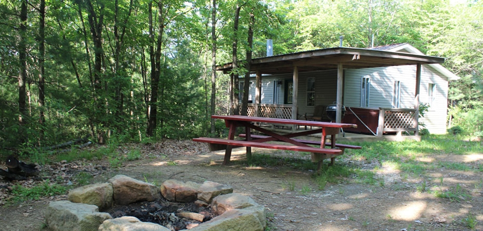 the dogwood at timberline cabins rentals at salt fork lake Salt Fork Lake Cabins