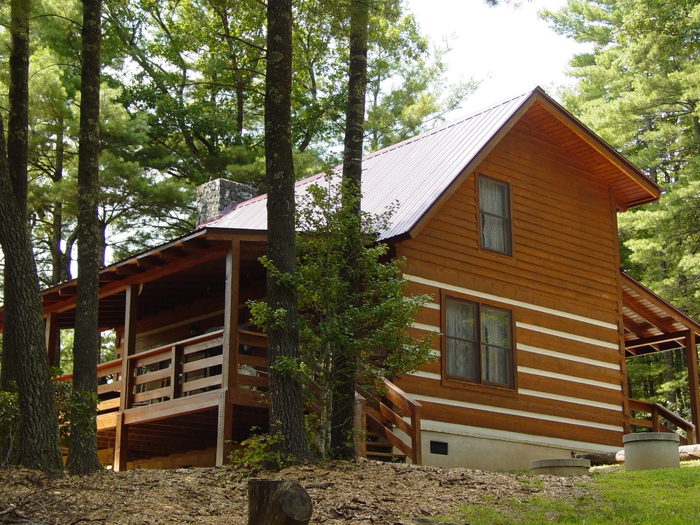the fall creek experience secluded log cabin vacation Fall Creek Cabins