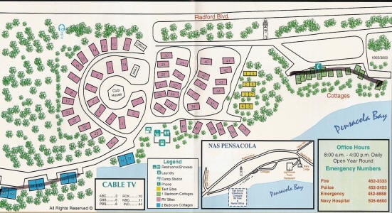 us military campgrounds and rv parks oak grove park and Nas Pensacola Cabins