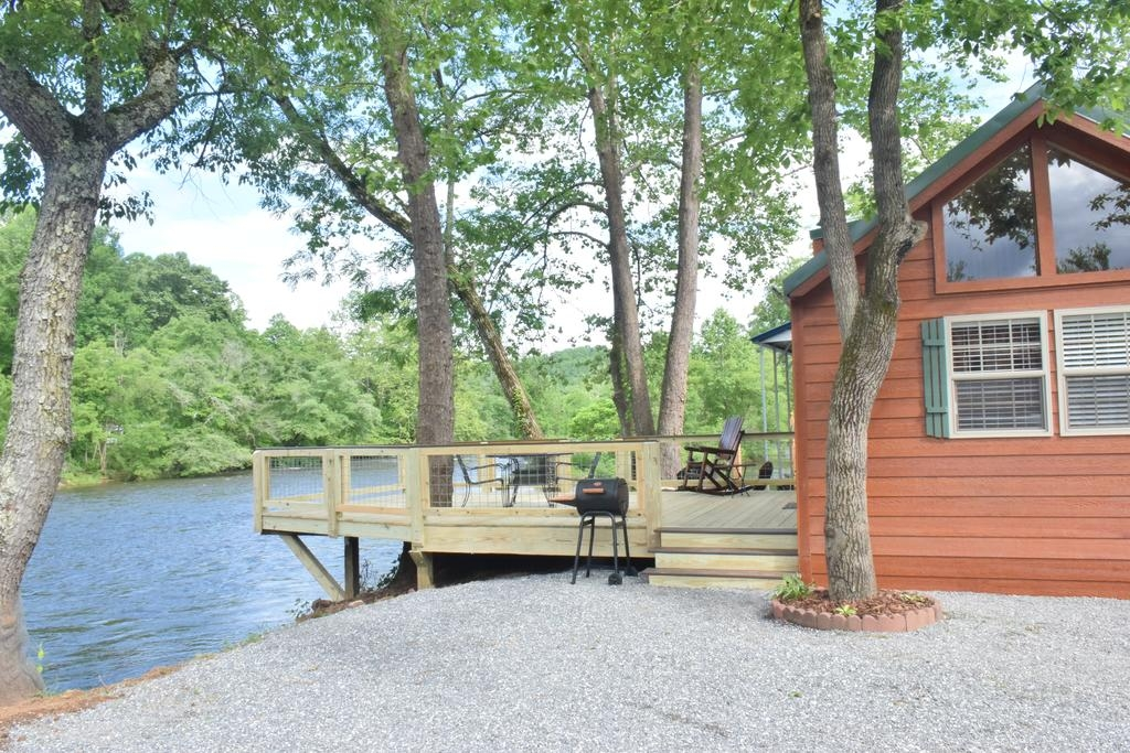 vacation home laurel bush riverfront cabins new tiny house Riverfront Cabins