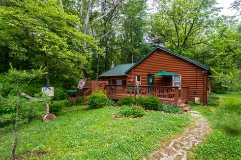 vacation rentals brown county log cabins Cabins Brown County Indiana