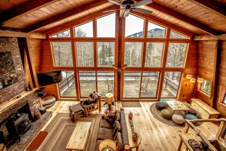 white mountain cabin rentals new england today Log Cabin Rentals Nh