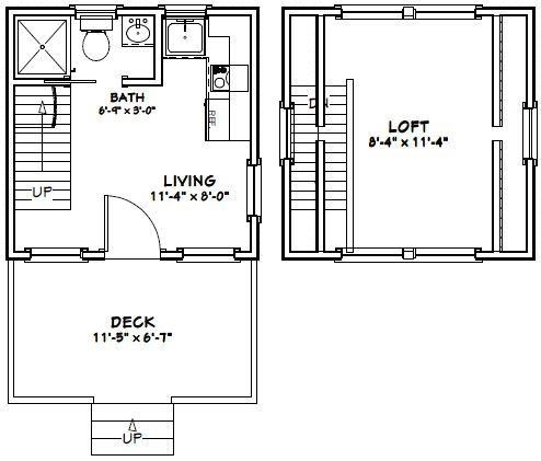 12x12 house w loft 12x12h2 260 sq ft excellent 12x12 Cabin With Loft