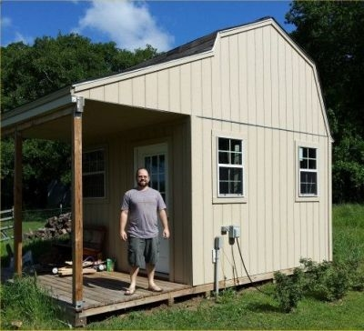 12x12 shed plans start building your own awesome shed today 12x12 Cabin With Loft
