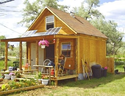 7 free diy cabin plans 12x12 Cabin With Loft