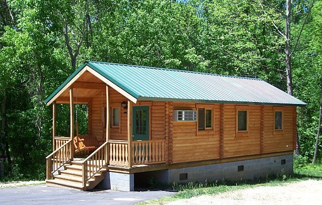 8 tips to building a low cost log cabin Small Cabin Build