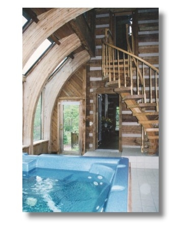 brown county indiana state park family vacation log cabin Brown County Cabins With Hot Tubs