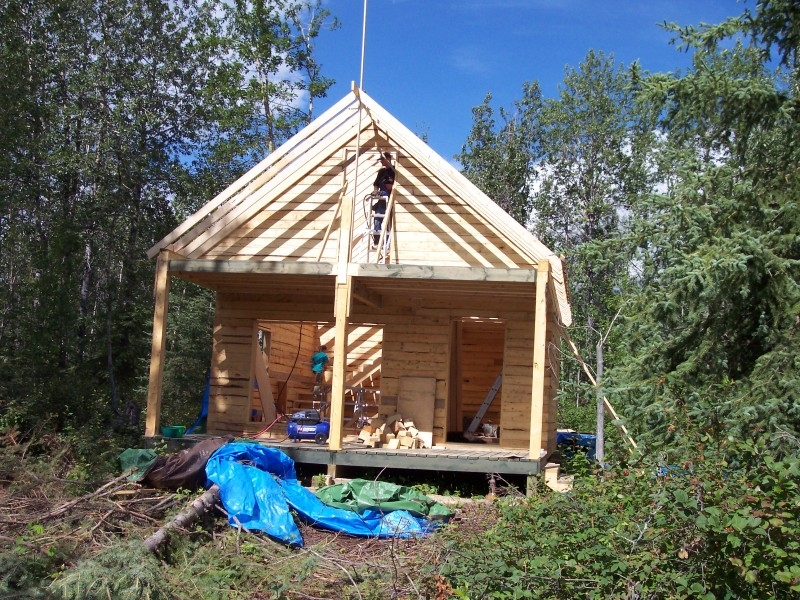 cabin building pictures small cabin forum 1 Build Cabin Gallery