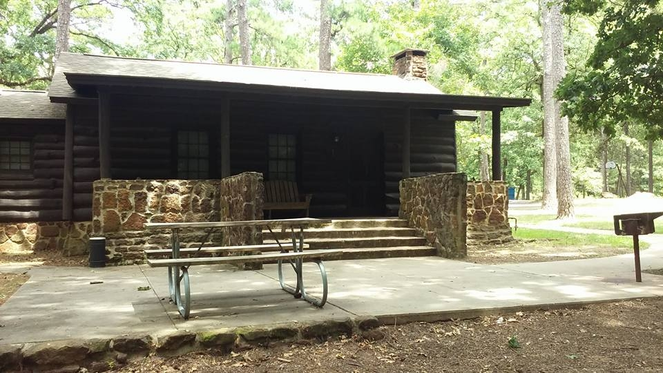 caddo lake state park cabins six person texas parks Lake Caddo Cabins