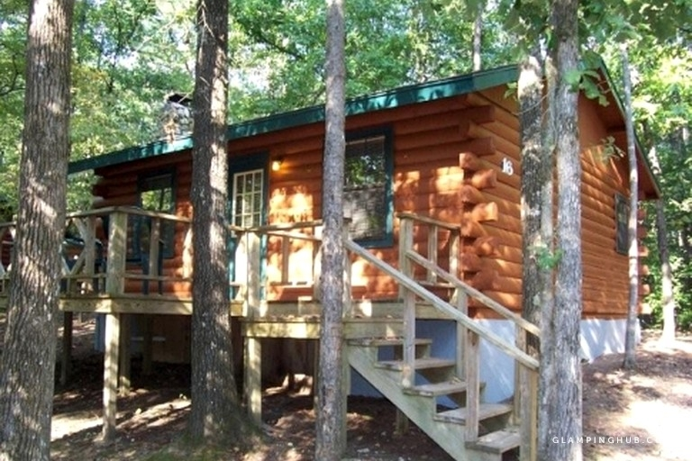 charming cabin rental overlooking a fishing pond in mccurtain county oklahoma Mccurtain County Cabins