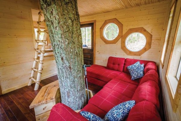 destination hotels aliyah treehouse cabin indianapolis Cabins In Indianapolis