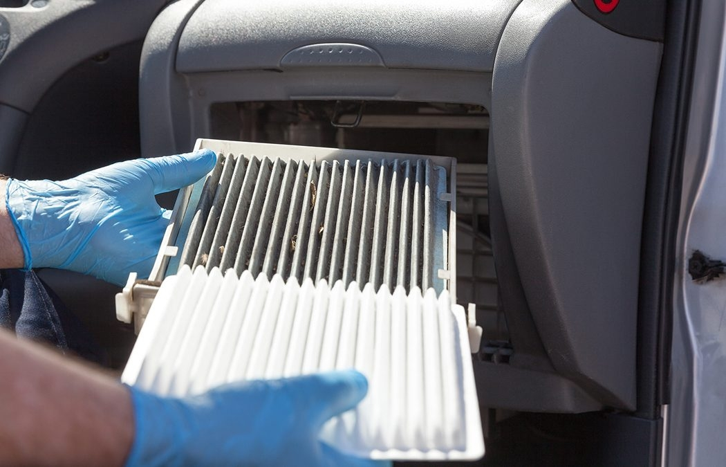 does a cabin filter have specific service intervals Scented Cabin Air Filter