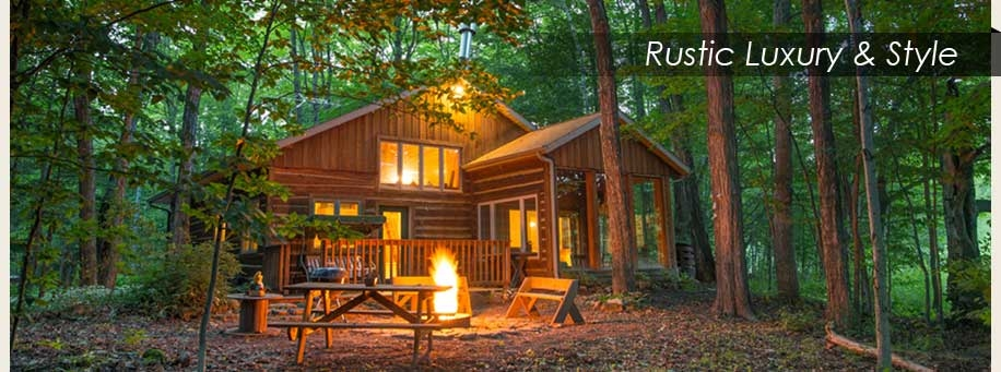 door county cottages Brown County Cabins Pet Friendly