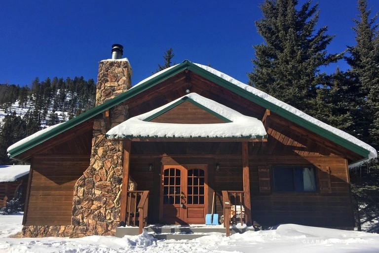 enchanting and secluded log cabin rental in red river new mexico Cabins In Red River Nm